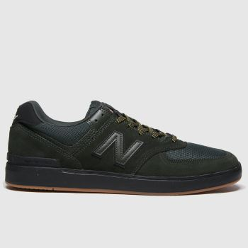 New Balance Dark Green 574 Mens Trainers