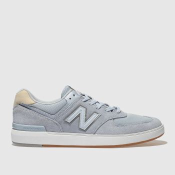 New Balance Pale Blue All Coasts 574 Mens Trainers