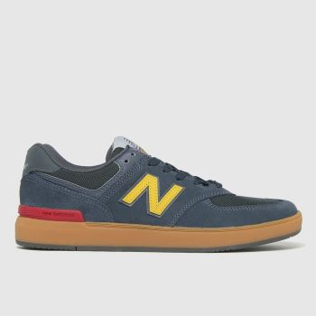 New Balance Navy All Coasts 574 Mens Trainers
