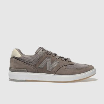 New Balance Brown All Coasts 574 Mens Trainers
