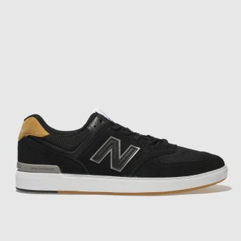 New Balance Black All Coasts 574 Mens Trainers