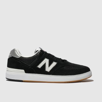 New Balance Black & White All Coasts 574 Mens Trainers