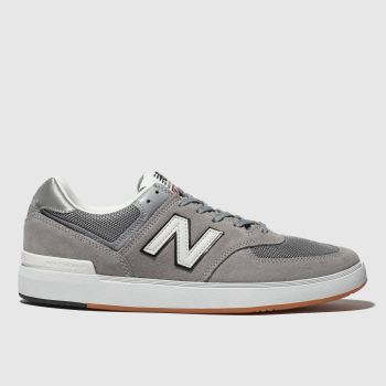 New Balance Grey All Coasts 574 Mens Trainers