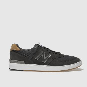 New Balance Dark Grey All Coasts 574 Mens Trainers