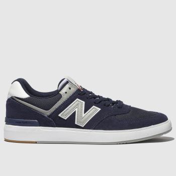 New Balance Navy & Grey 574 Mens Trainers