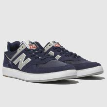 sélection premium f868f eb2e1 new balance navy & grey 574 trainers