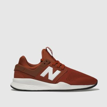 New Balance Orange 247 V2 Mens Trainers