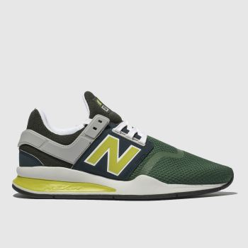 New Balance Dark Green 247 V2 Mens Trainers
