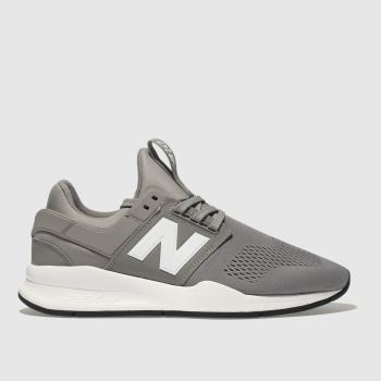 New Balance Grey 247 V2 Mens Trainers
