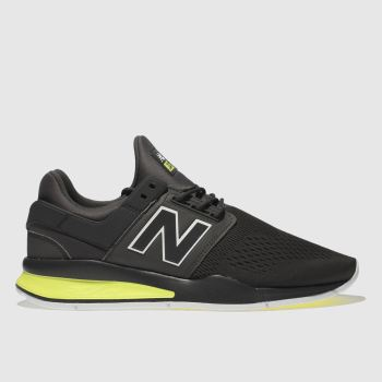 New Balance Dark Grey 247 V2 Mens Trainers