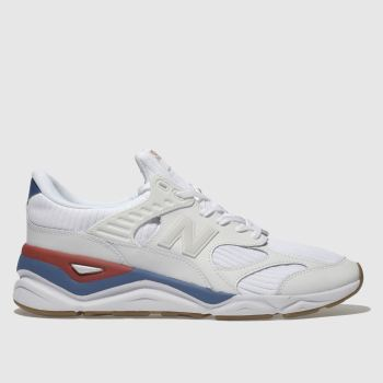 New Balance White & Blue X-90 Mens Trainers