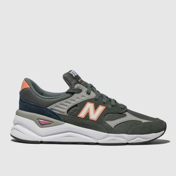 New Balance Khaki X90 Mens Trainers
