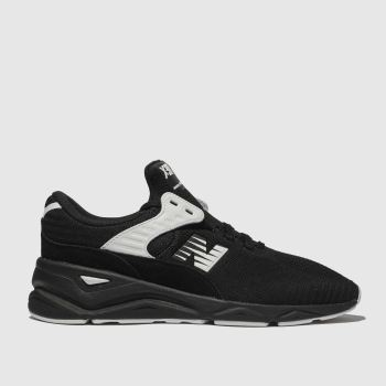 New Balance Black & White X-90 Mens Trainers