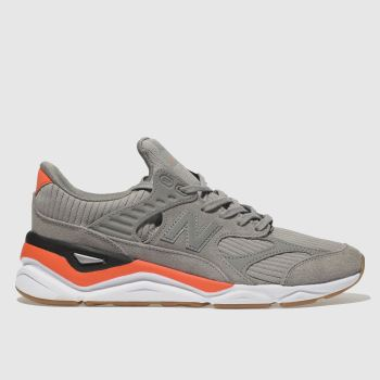 New Balance Dark Grey X-90 Mens Trainers