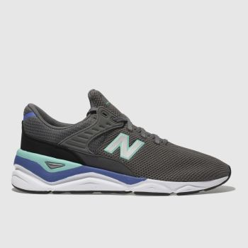 New Balance Grey X-90 Mens Trainers
