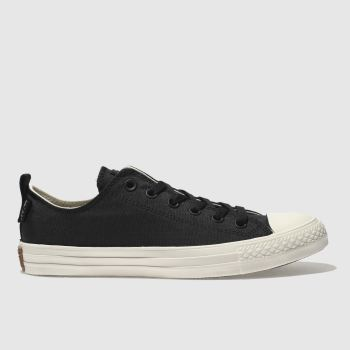 Converse Black All Star Ox Cordura Mens Trainers