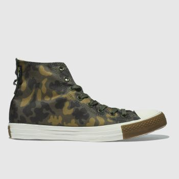 Converse Khaki ALL STAR HI CORDURA Trainers