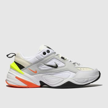 nike light grey m2k tekno trainers