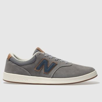 New Balance Grey All Coasts 424 Mens Trainers