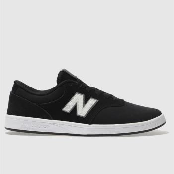 New Balance Black & White All Coasts 424 Mens Trainers