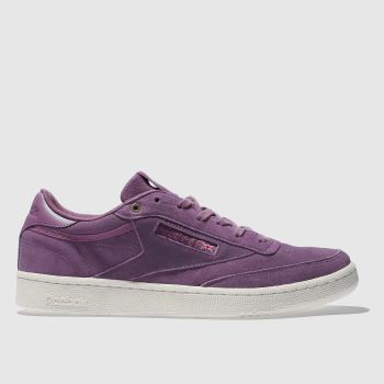Reebok Purple Club C 85 Mcc Mens Trainers