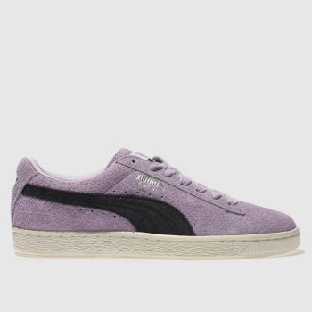 Puma Purple Suede Diamond Mens Trainers