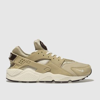Nike Tan Air Huarache Run Premium Mens Trainers