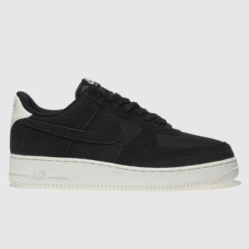 Nike Schwarz Air Force 1 07 Herren Sneaker