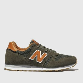 buy popular c8e58 6fbe8 New Balance Khaki 373 Mens Trainers