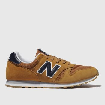 New Balance Tan 373 Mens Trainers#