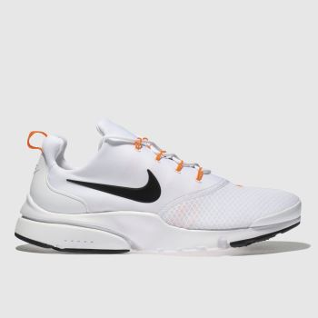 Nike White & Black Presto Fly Jdi Mens Trainers