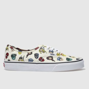 Vans Multi Authentic Marvel Avengers Mens Trainers