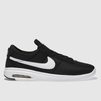 Nike Sb Black & White Air Max Bruin Vapor Mens Trainers