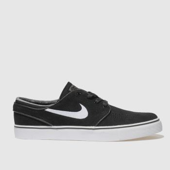 Nike Sb Black & White Zoom Stefan Janoski Mens Trainers