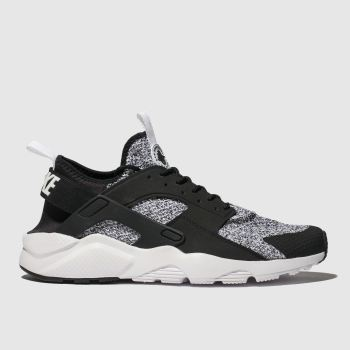 Nike White & Black Air Huarache Run Ultra Se Mens Trainers