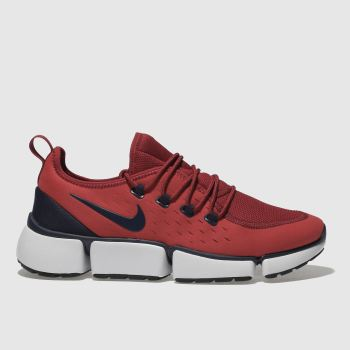 NIKE RED POCKET FLY DM TRAINERS