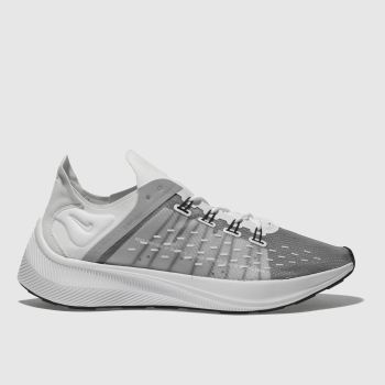 Nike White & grey Exp-X14 Mens Trainers