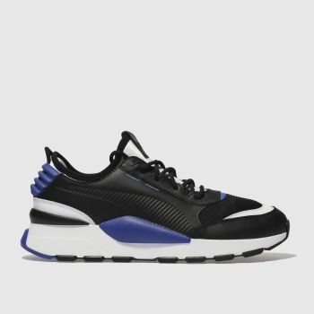 Puma Black and blue RS-0 SOUND Trainers