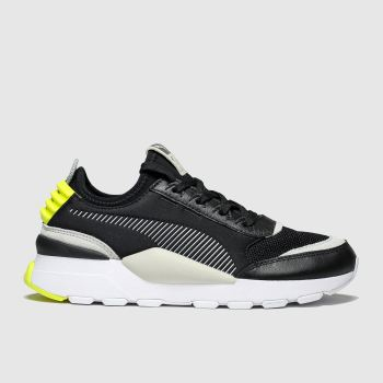 Puma Black & Grey Rs-0 c2namevalue::Mens Trainers