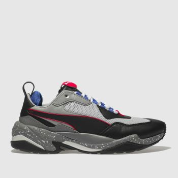 Puma Grey Thunder Electric Mens Trainers