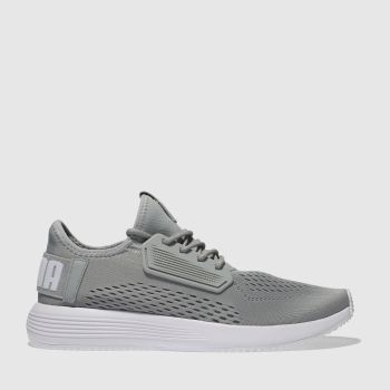 2cac7a9e83079e Puma Grey Uprise Mens Trainers