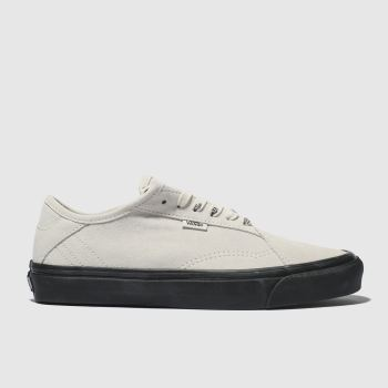 Vans White & Black Diamo Ni Mens Trainers