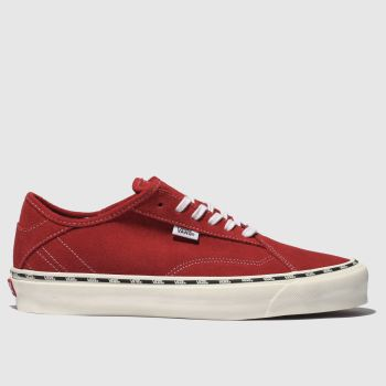 vans red diamo ni trainers