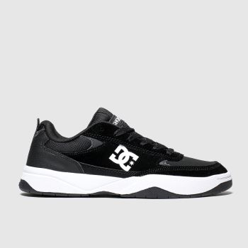 Dc Black & White Penza Mens Trainers