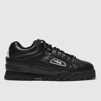 Fila Black Trailblazer Mens Trainers