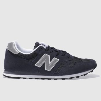 a57c2c92a85 New Balance Navy 373 Mens Trainers