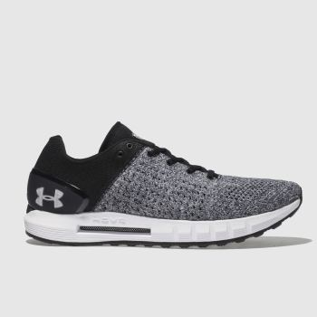 Under Armour Black & Grey Hovr Sonic Mens Trainers