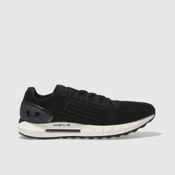 Under Armour Black & White Hovr Sonic Mens Trainers