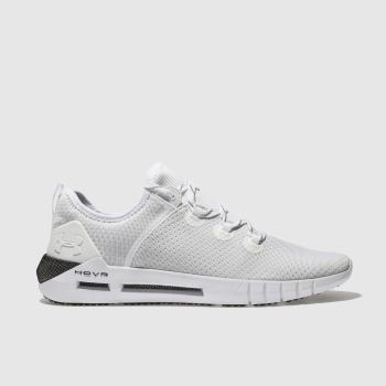Under Armour White & Black Hovr Slk Mens Trainers