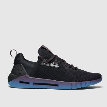 under armour black hovr slk trainers